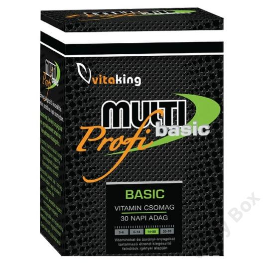 Vitaking Multi Profi Basic Multivitamin csomag