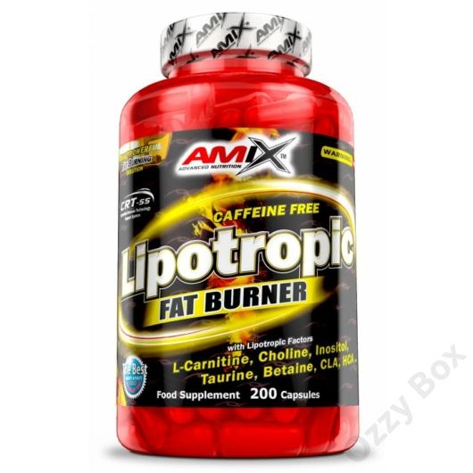 Amix Lipotropic Fat Burner 200 Kapszula Zsírégető