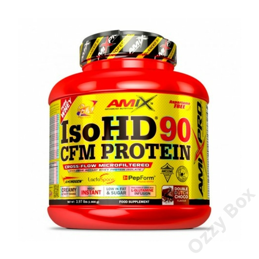 Amix Nutrition IsoHD 90 CFM Protein 1800 g Fehérjepor