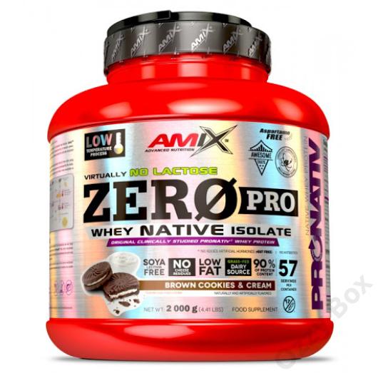 Amix Nutrition ZeroPro Native Whey Isolate 2000g Fehérjepor