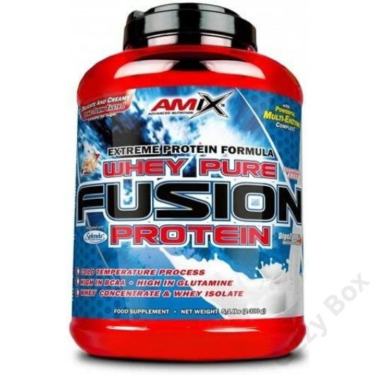 Amix Whey Pure Fusion Protein 2300 g Fehérjepor