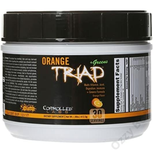 Controlled Labs Orange Triad+Greens