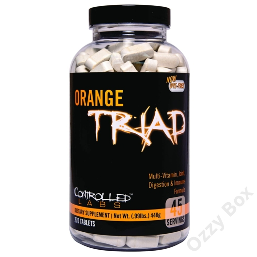 Controlled Labs Orange Triad Tabs