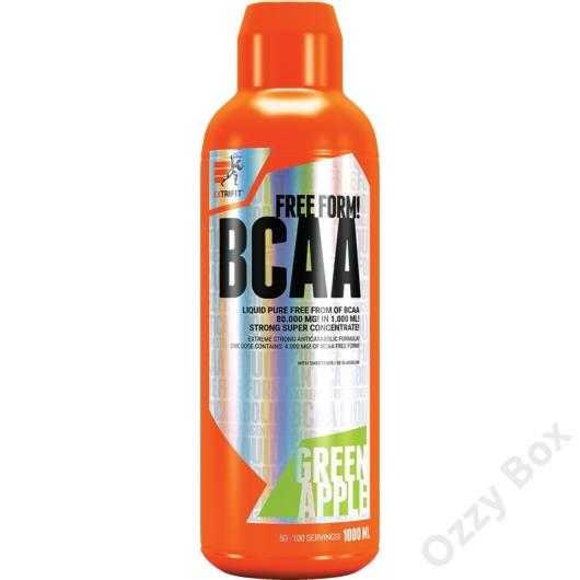 Extrifit BCAA Free Form Liquid 1000 ml Aminosav