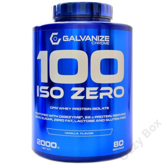 Galvanize Nutrition Chrome 100 ISO ZERO 2000 gramm Fehérjepor