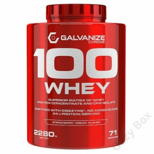 Galvanize Nutrition Chrome Whey 2280 g Fehérjepor