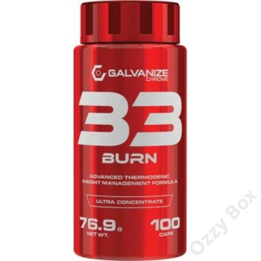 Galvanize Nutrition Chrome 33 Burn Zsírégető