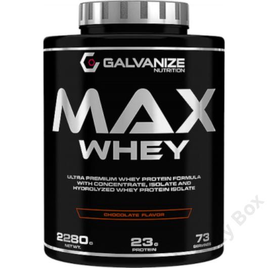 Galvanize Nutritition Max Whey 2280 gramm Fehérjepor