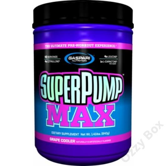 Gaspari Nutrition SuperPump Max 640 g