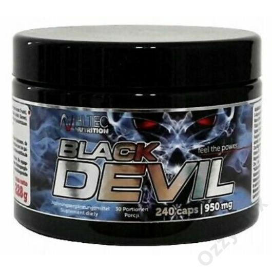 Hi-Tec Nutrition Black Devil 240 Kapszula Tesztoszteronszint Növelő