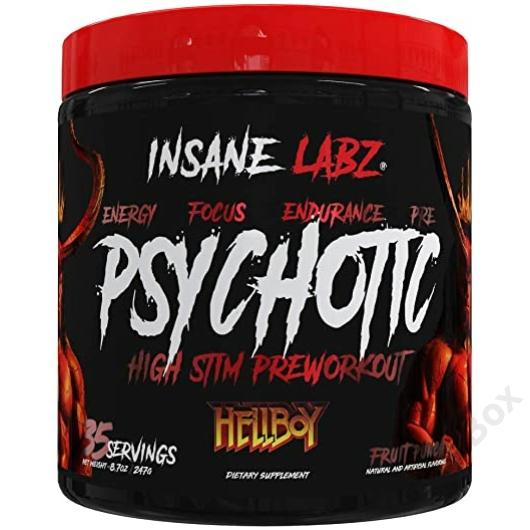 Insane Labz Psychotic Hellboy Edition Teljesítményfokozó