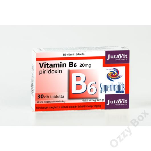 JutaVit B6 Vitamin 30 tabletta