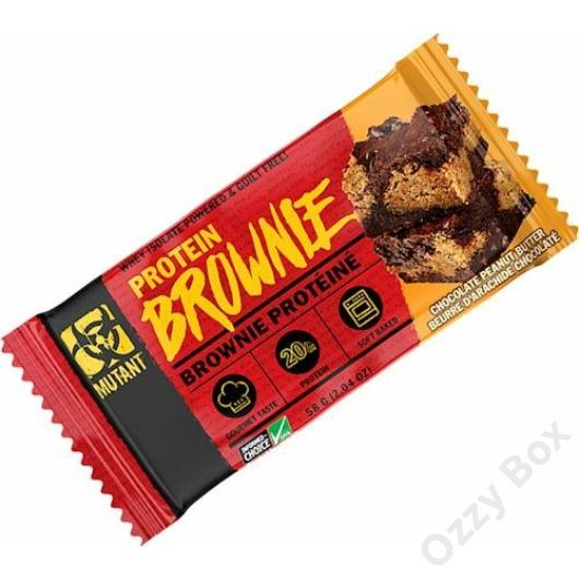 Mutant Protein Brownie 58 g Fehérjeszelet