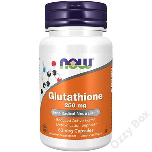 Now Foods Gluthatione 250 mg Antioxidáns