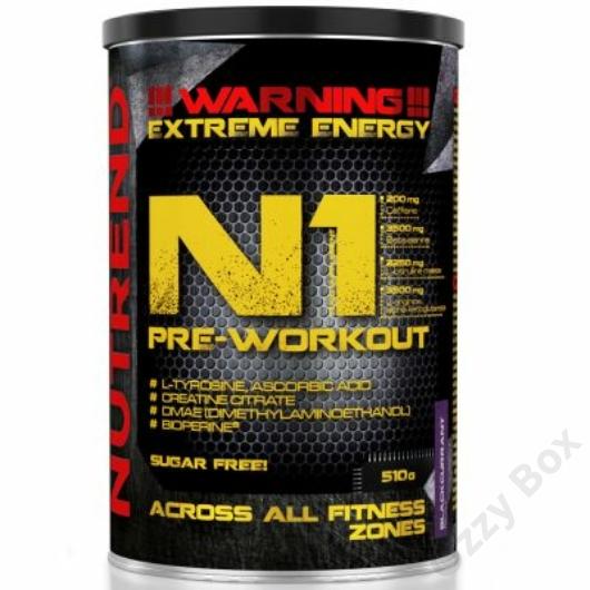 Nutrend N1 Pre Workout 510 g Teljesítményfokozó