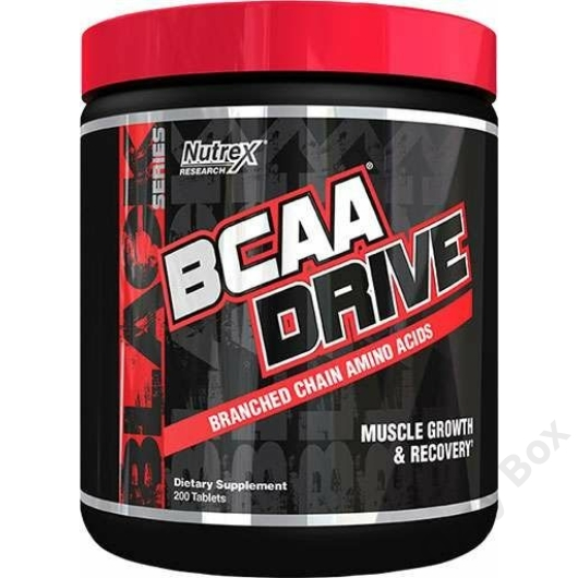 Nutrex BCAA Drive 200 tabletta