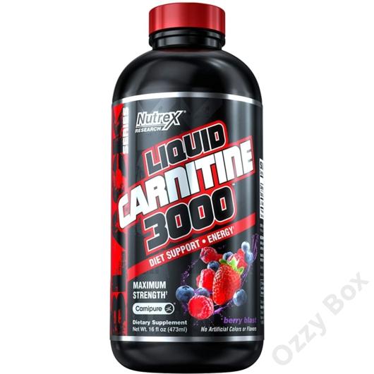 Nutrex Liquid Carnitine 3000 mg 480 ml
