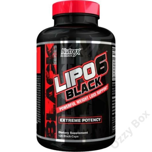 Nutrex Lipo-6 Black 120 Kapszula Zsírégető