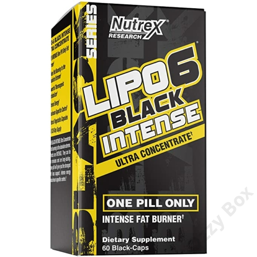 Nutrex Lipo-6 Black Intense Zsírégető