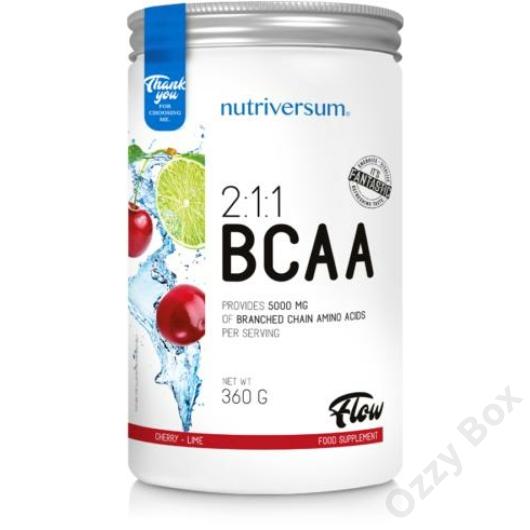 Nutriversum BCAA Flow 360 g Aminosav