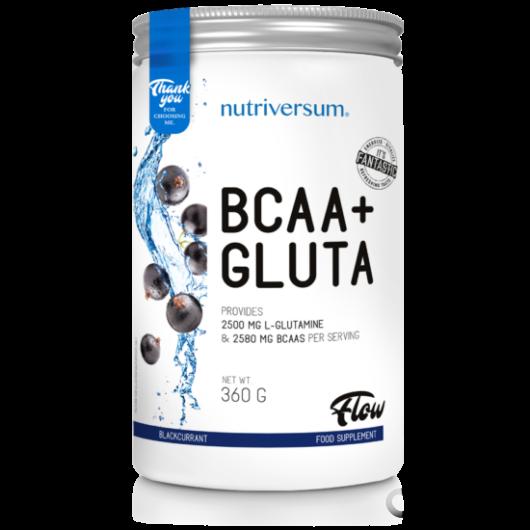 Nutriversum BCAA+Gluta 360 g Aminosav