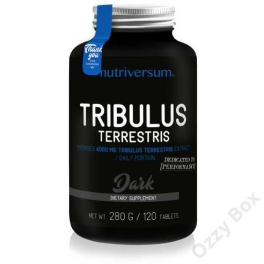 Nutriversum Dark Tribulus Terrestris 120 Tabletta Tesztoszteronszint Növelő
