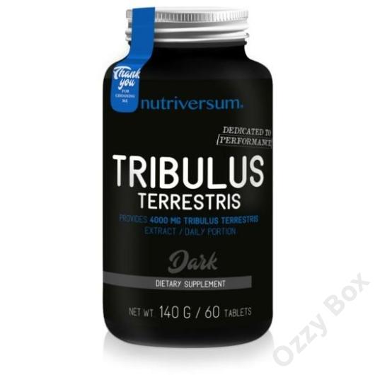 Nutriversum Dark Tribulus Terrestris 60 Tabletta Tesztoszteronszint Növelő
