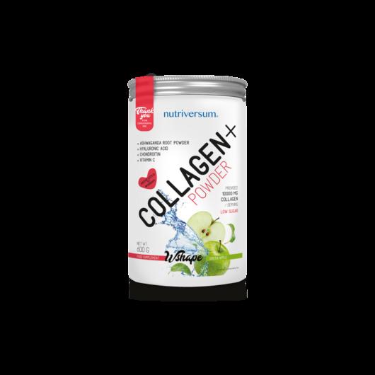 Nutriversum WShape Collagen+ 600 g Kollagénpor