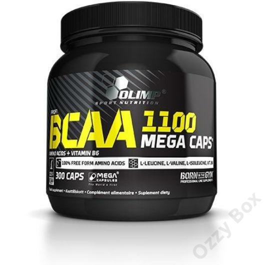 Olimp BCAA 1100 Mega Caps 300 Kapszula Aminosav