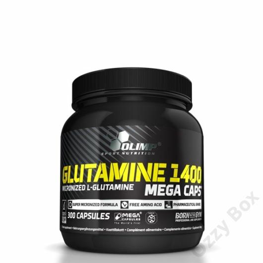 Olimp Glutamine 1400 Mega Caps 300 Kapszula Aminosav