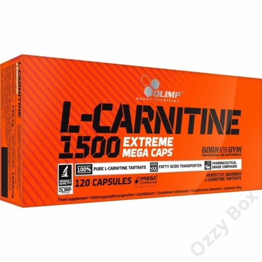 Olimp L-Carnitine 1500 Extreme 120 Kapszula Zsírégető