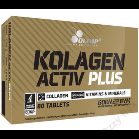 Olimp Kolagen Activ Plus 80 Tabletta Kollagén