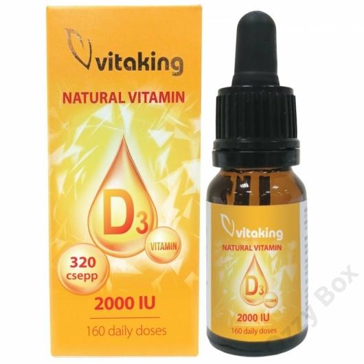Vitaking D3-vitamin csepp