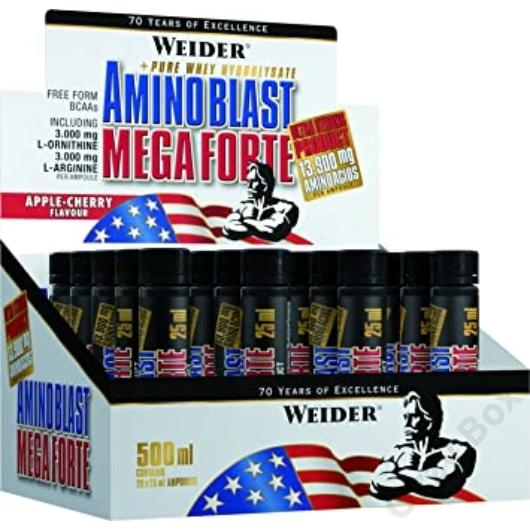 Weider Amino Blast Mega Forte 20x25ml