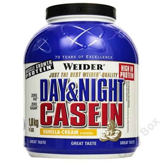 Weider Day & Night Casein 1800 g Fehérjepor