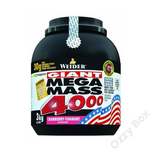 Weider Giant Mega Mass 4000 Tömegnövelő 3000 g