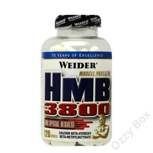Weider HMB 3800 Aminosav 120 kapszula