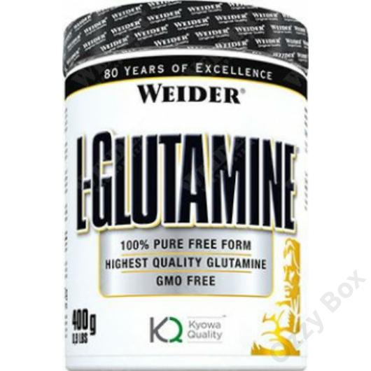 Weider L-Glutamine Aminosav 400 g
